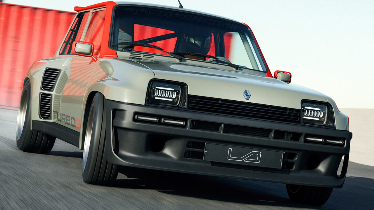 Renault 5 Turbo Legende Automobile
