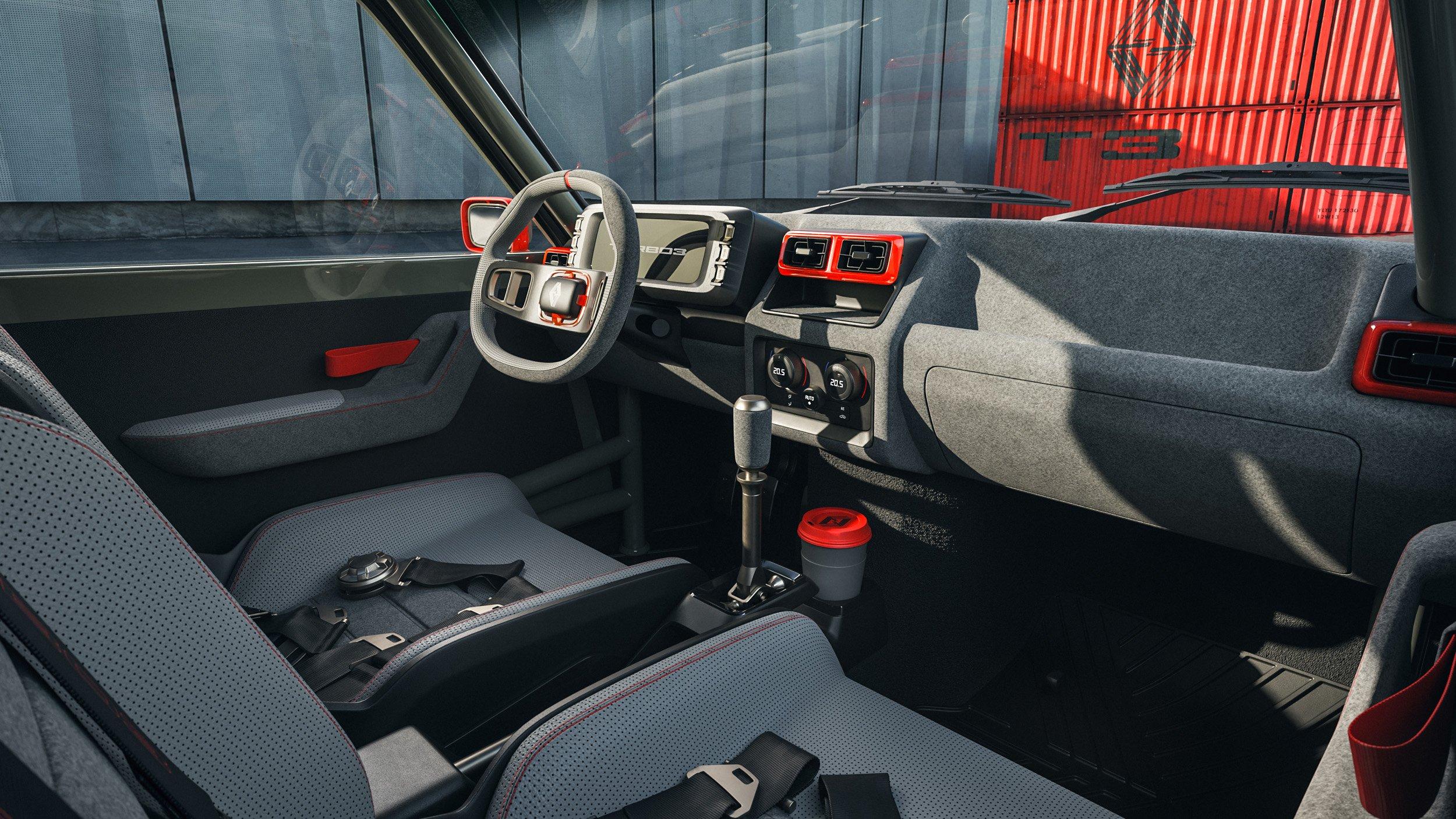 Intérieur Renault 5 Turbo Legende Automobile