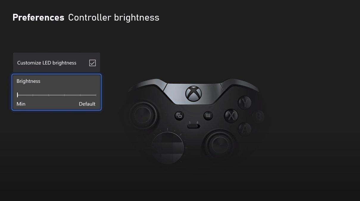 Luminosité Manette Xbox Series X/S
