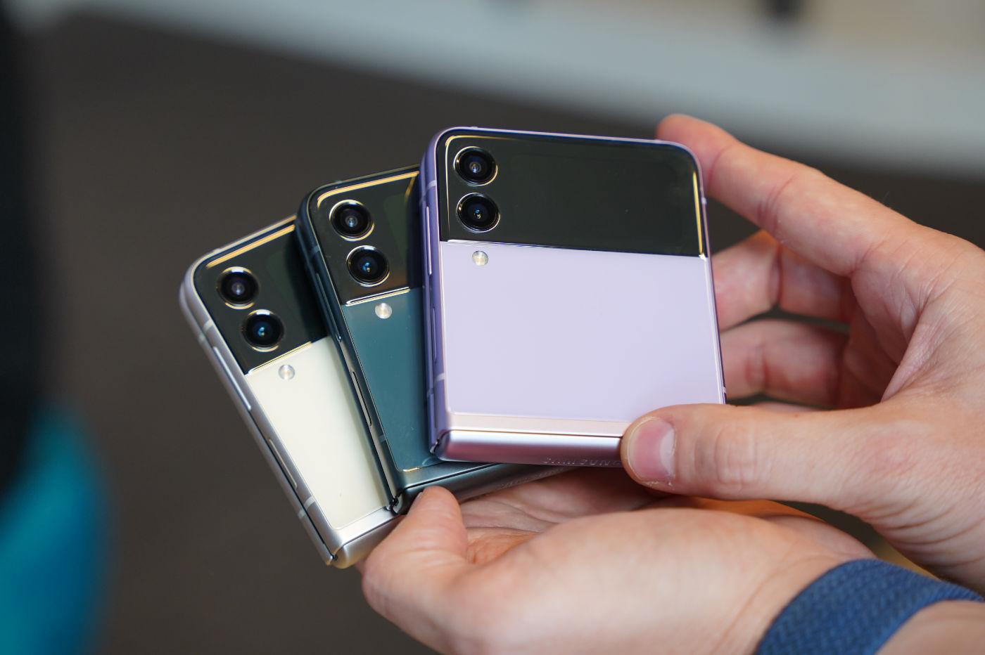 Samsung Galaxy Z Flip3 Exterieur