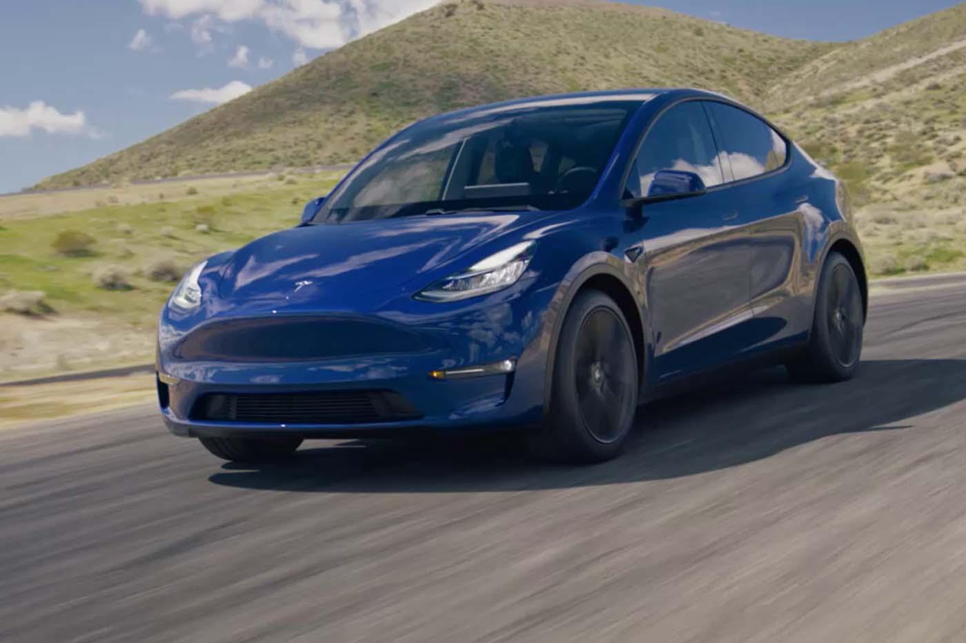 Tesla Model Y design
