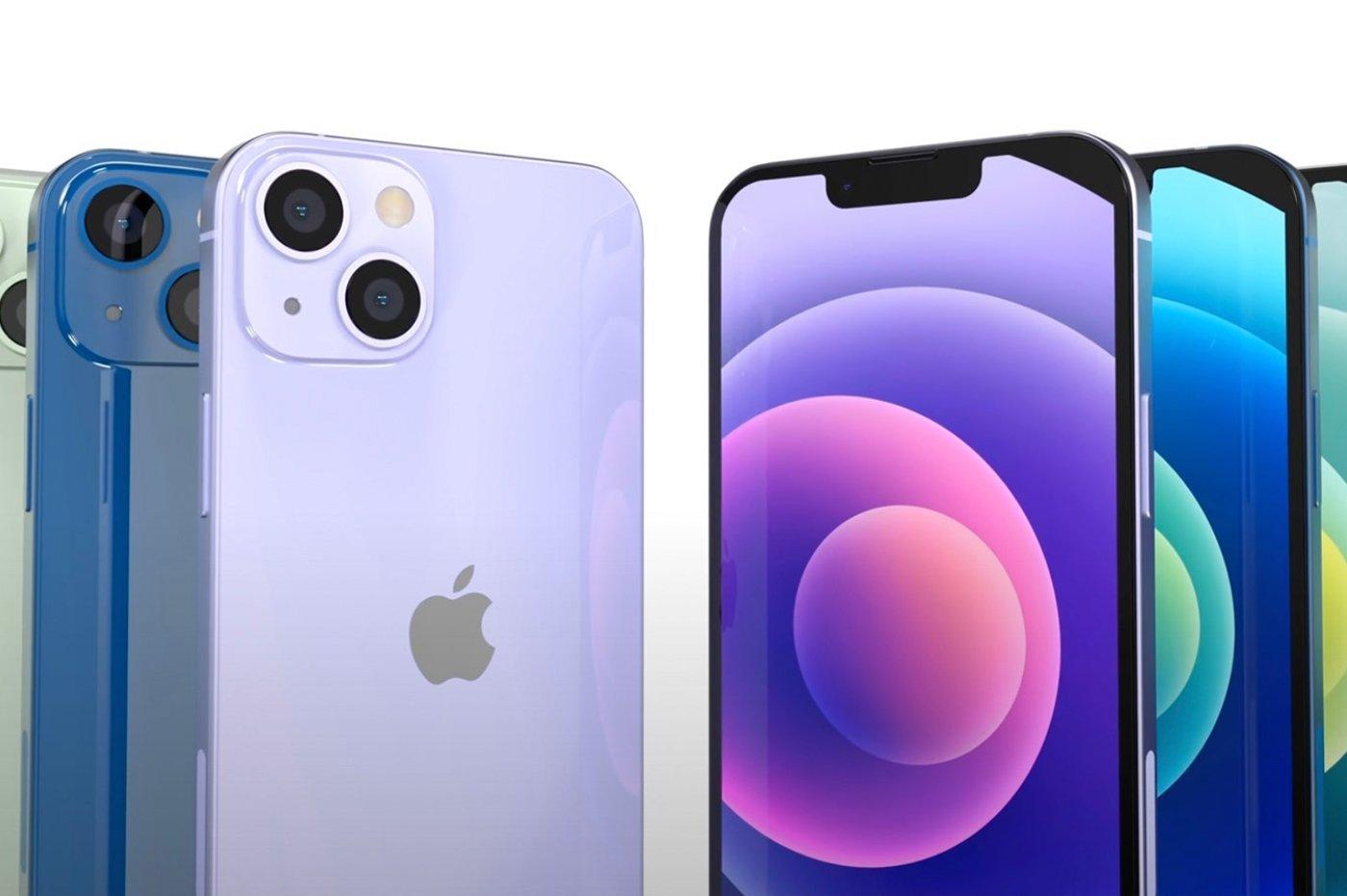 Rendus iPhone 13