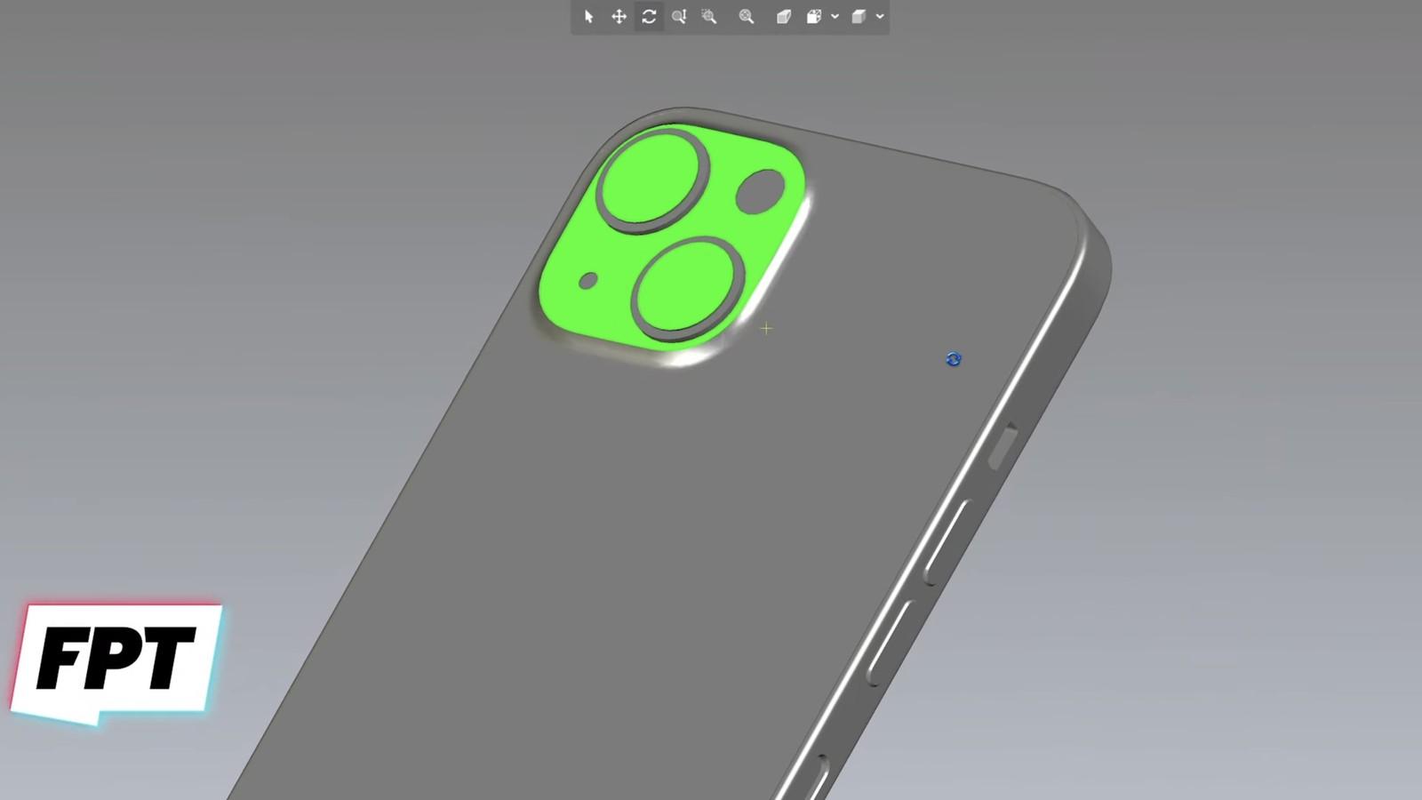 Rendu iPhone 13