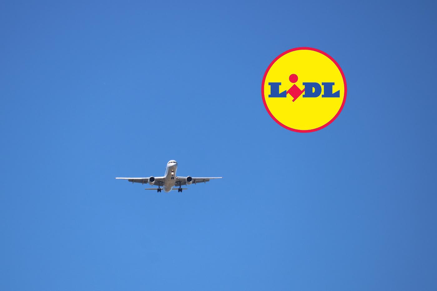 Lidl billet avion